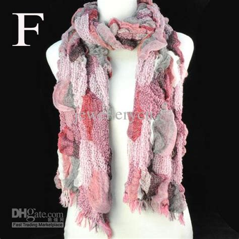 Syal Winter Scarf 1 Ring Import Wool Knit Shawl fashion knitted scarves s winter scarf selling in