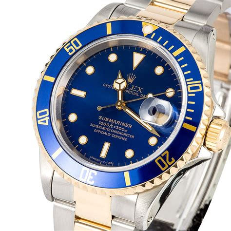 Rolex Oyster Submariner 2 rolex two tone submariner 16613 oyster