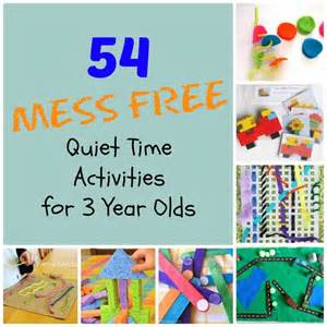 54 mess free quiet time activities for 3 year olds nap