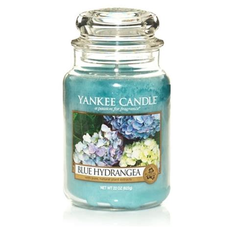 Blue Jar Candle by Yankee Candle Blue Hydrangea Large Jar Scented Candle Ebay