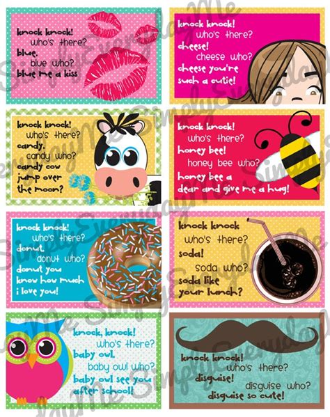 jokes printable pdf 63 best images about lunch notes on pinterest free