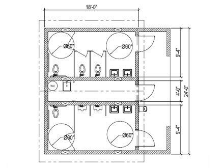 ada restroom floor plans basic bathroom regulations for public spaces pinterest