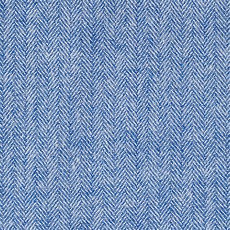 Designer Upholstery Kaufman Shetland Flannel Herringbone Denim Discount