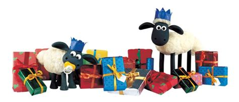 Sticker Label Nama Seri Shaun The Sheep Friends shaun is the king of the presents knit i say more sheep