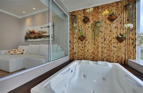 decoracion bambu  interiores encantadores  relajantes