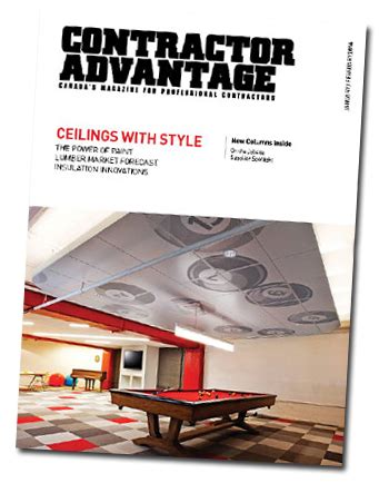contractor magazines rideau lakes building centre