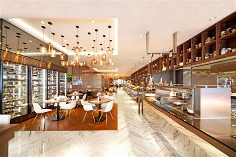 rising casino buffet element caf 233 by designphase dba singapore 187 retail design