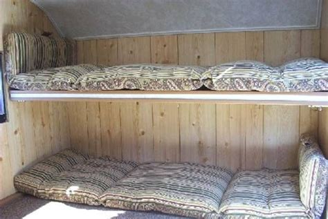 Rv Bunk Bed Mattress Ez Teardrop Cer Bunk Beds Adventures Pinterest The O Jays Mattress And Cers