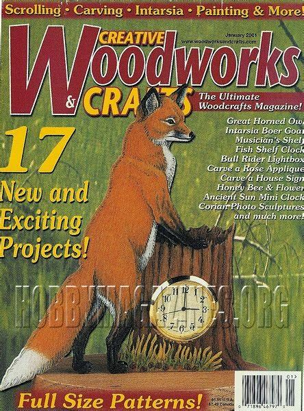 woodworks and crafts creative woodworks and crafts 75 january 2001 187 hobby