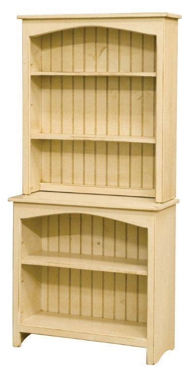 pine hutch bookcase