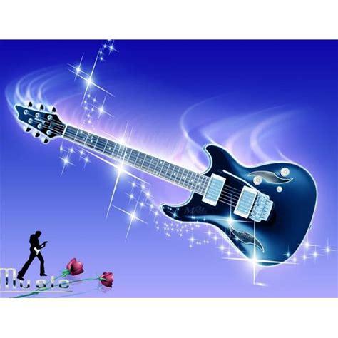 wallpaper guitar blue music wallpaper for windows users