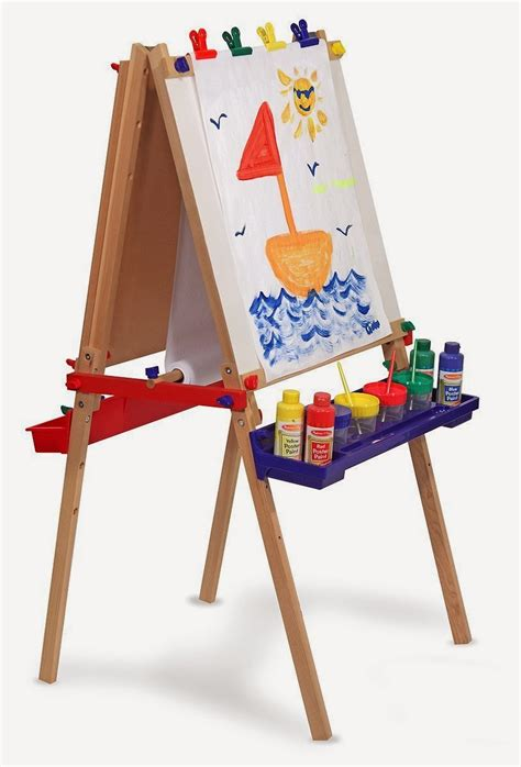 easels for kids melissa doug deluxe standing easel best and top toys