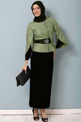 Baju Muslim Wanita Karir 31 koleksi baju muslim modern bentuk dress untuk wanita karir kabarmakkah