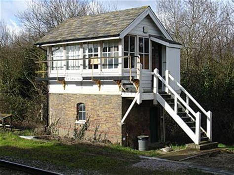 Beach Home Plans rye signal box rye railway station rye sussex england uk