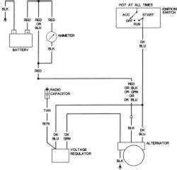 delco alternator 3 wire wiring diagram delco free
