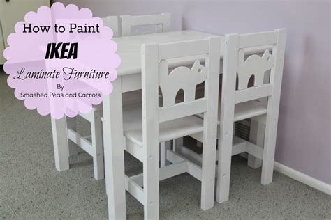 how to paint ikea furniture how to paint ikea laminate furniture tutorial smashed