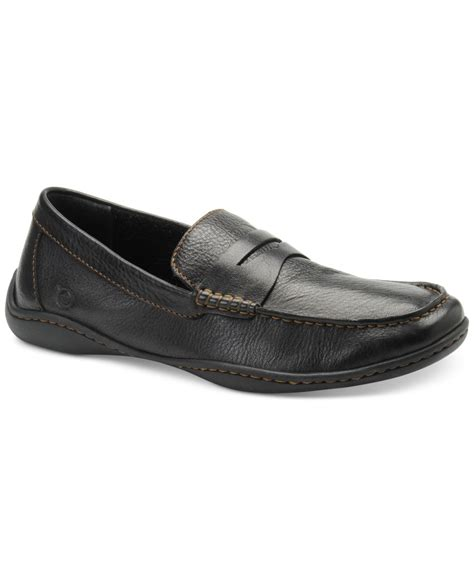 born loafers born s simon loafers in black for lyst