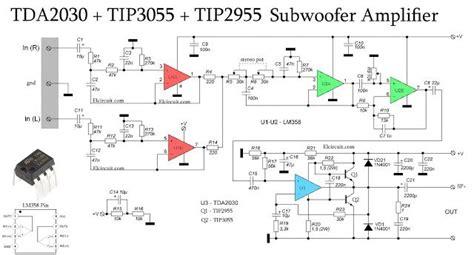 subwoofer amplifier  tda tip tip
