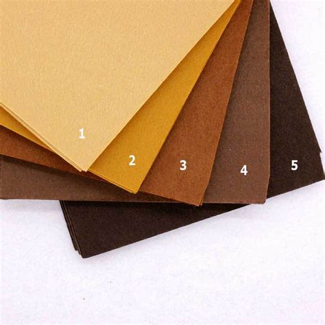 Polyester Coklat aliexpress buy brown color chocolate felt cloth