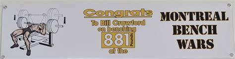 bill crawford bench press gym owner sets world record in bench press sports