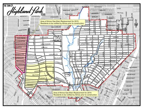 map of highland park texas map of dallas texas and surrounding towns wall hd 2018