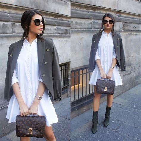 Lv Dress Zara fashionbymnp mango khaki blazer zara white shirt