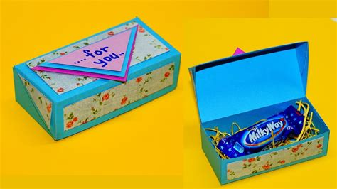 simple box ideas diy paper crafts idea gift box ideas craft how to make
