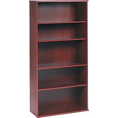 Bush 174 Westfield Bookcases Ready To Assemble Staples 174 Staples Bookshelves