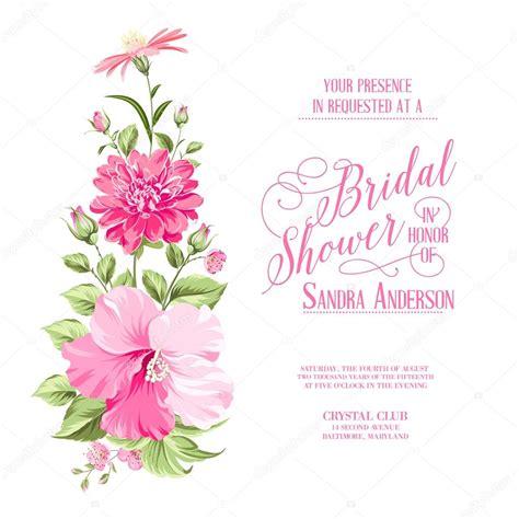 imagenes de flores para invitaciones guirnalda de flores para la tarjeta de la invitaci 243 n