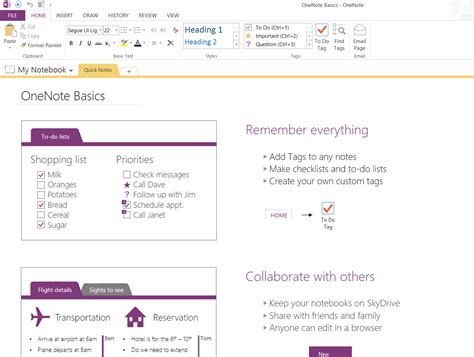 how to take awesome meeting notes with onenote 2013 2016 youtube