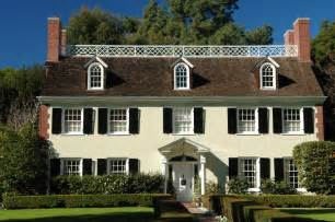 colonial homes tips to retain the essence of a colonial style house