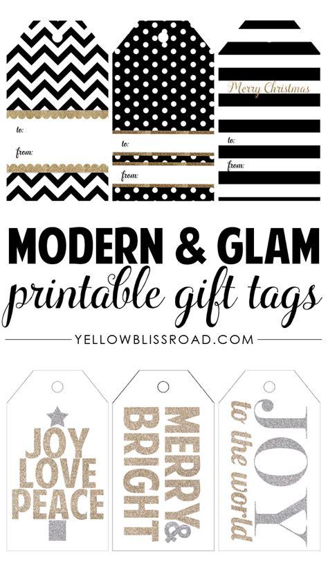 free printable yellow gift tags free printable christmas gift tags yellow bliss road