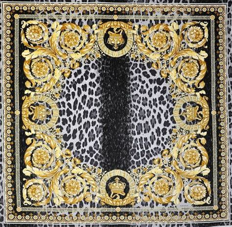versace pattern fabric versace crown vanity velvet fabric panel throw 54