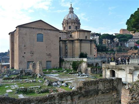 roman senate house rome roman senate house and church of st luke and st martina flickr photo sharing