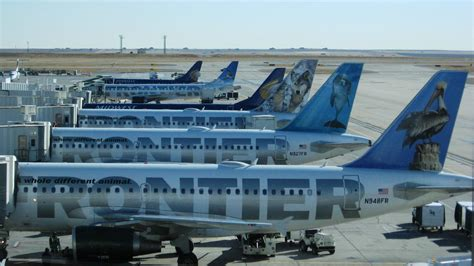 frontier baggage fees frontier airlines increases some fees for baggage denver