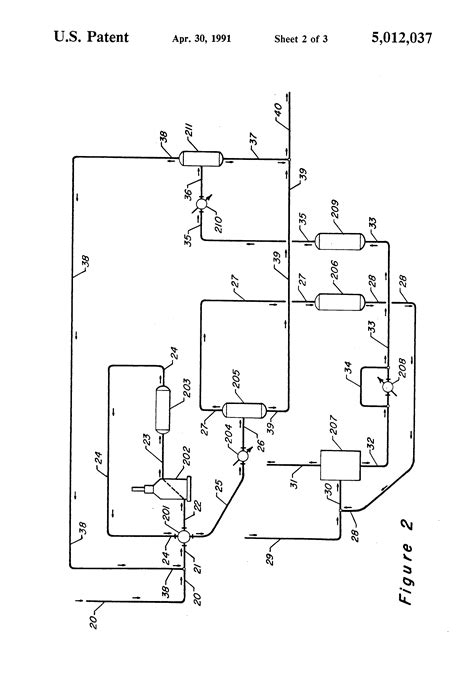 thermal swing adsorption patent us5012037 integrated thermal swing pressure swing