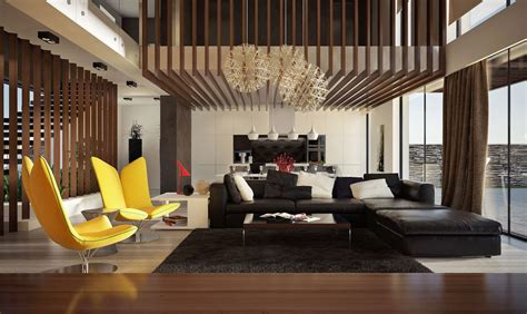 30 height living rooms that add an air of luxury