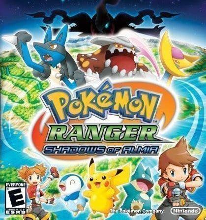 pokemon ranger: shadows of almia play game online