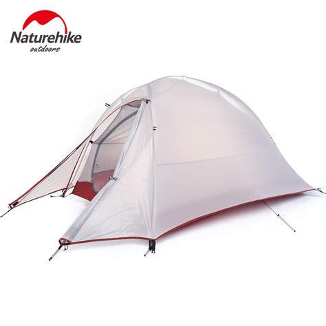 Tenda Cing Ultralight Layer Waterproof silicone coating layer waterproof pu4000 single tents aluminum rod mountain ultralight