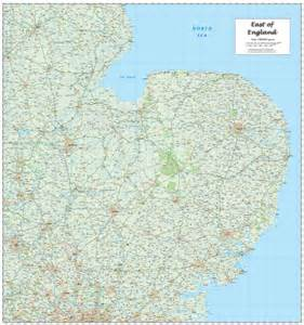 Wall Planner Stickers e east of england regional map map graphics