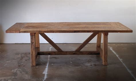 reclaimed wood dining table style dining tables
