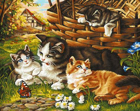 gambar painting kucing buy grosir cat menggambar gambar from china cat