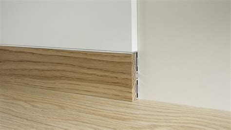 recessed baseboard flush to the wall baseboard