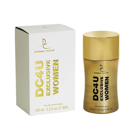 Xclusive Edt 100ml dorall collection dc4u exclusive edp for 100ml