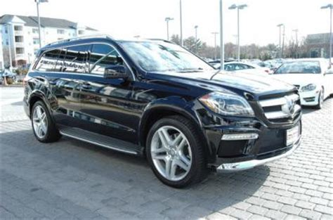 export used 2013 mercedes benz gl550 4matic black on brown