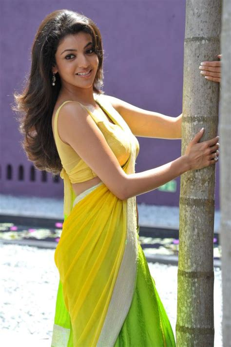 actress kajal agarwal hot actress kajal agarwal hot saree blouse photos actress