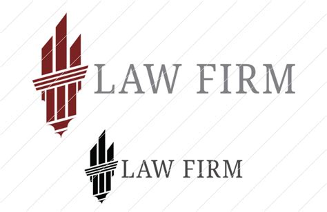law firm logo template vandelay design