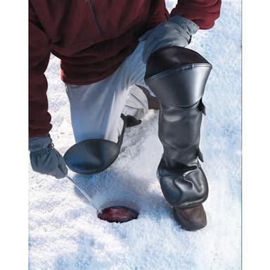 the original ice chaps, black 26866, ice fishing