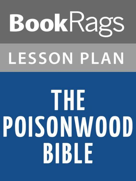 libro the poisonwood bible the poisonwood bible lesson plans by bookrags nook book ebook barnes noble 174