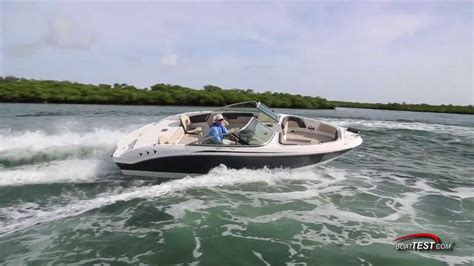 chaparral boats h2o reviews chaparral h2o 21 ski fish test 2014 by boattest